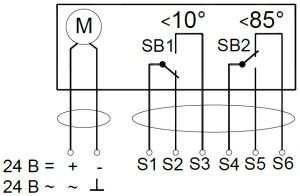 ALLFA FS 24 7-7 схема электрического подключения электропривода