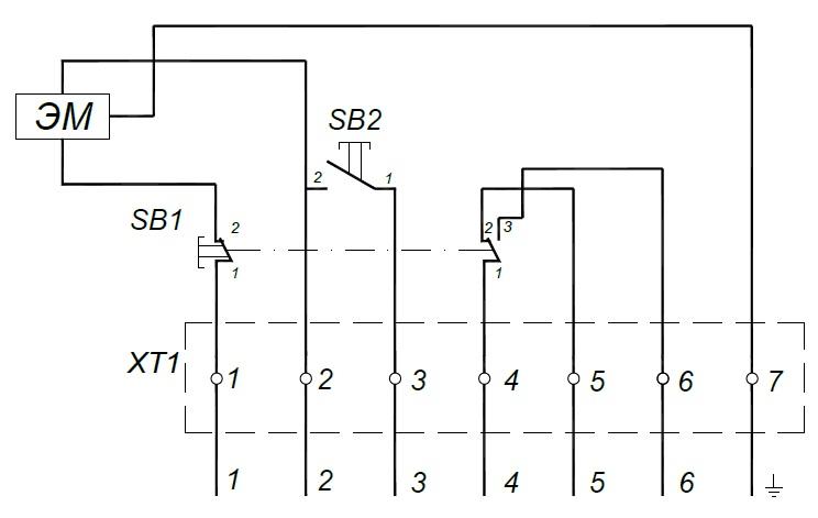 Электропривод пэм схема подключения