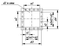 Технические характеристики вентиляторов радиальных ВР 80-75. Конструктивная схема