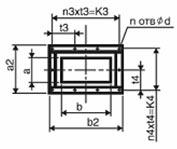 Конструктивная схема пристенного вентилятора дымоудаления ВРП ДУ